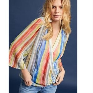 Anthropologie Bl-nk London Erasmus Striped Top L